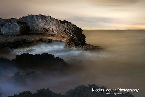 sea mer seascape mar nocturna nocturne rocas ametllademar paysagesmaritimes paisajesmaritimos 3calas