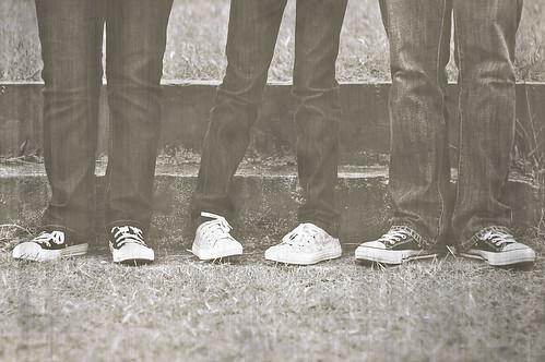 family blackandwhite texture monochrome grass vintage 50mm three nikon sneakers converse day22 chucks chucktaylor d90 rubbershoes nikkor50f14 22365 artistpicks sheilaparas 365daysofsomething
