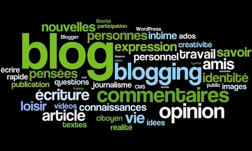 Blog et blogging : définition par tags