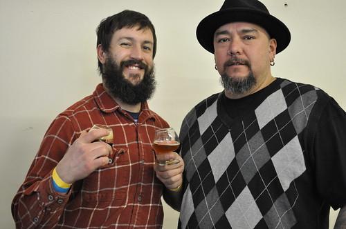 image of Josh Pfriem & Mike Armstrong circa 2012 at Belgianfest