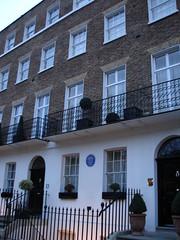 Photo of Thomas Daniell blue plaque