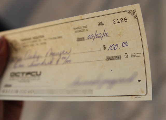First Paycheck from Flickr via Wylio