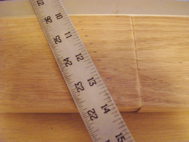 Tilted Ruler Marking