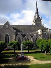 Eglise de Parcé sur Sarthe