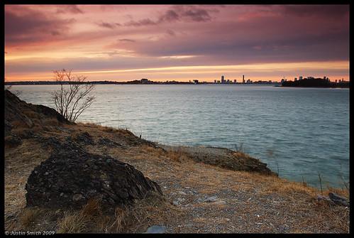 sunset nikond50 bostonma quincyma justinsmith chapelrock nickersonbeach nikon1735mmf28