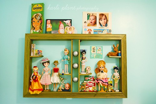 kitsch shelf