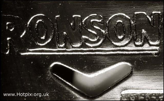 Ronson Disposable Lighter Detail