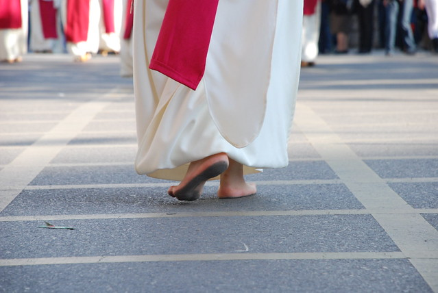 Barefoot Priest - Flickr CC vreimunde
