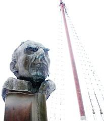 Bust of Roald Amundsen