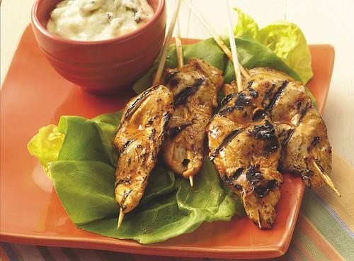 Grilled Buffalo Chicken Sticks Recipe