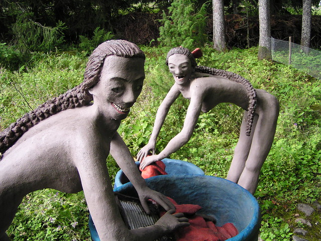 Two Sculptures from Veijo Rönkkönen