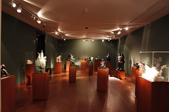 sala de esculturas de botero