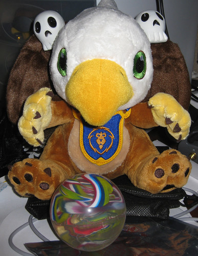 Warcraft Stuffed Gryphon Hatchling