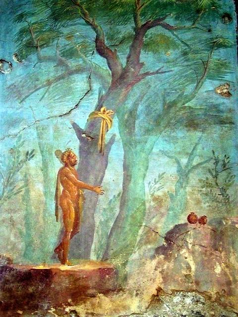 Hercule dans le jardin des hesp rides d tail ier for Jardin hesperides