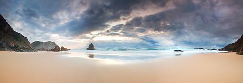 ocean sunset nature oguh