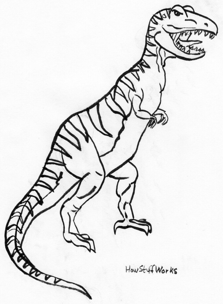 T Rex Using Howstuffworks