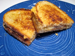 Basic Grilled Cheese by William Jones