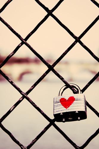Parisian Love Lock