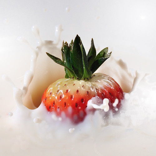 The strawberry bath