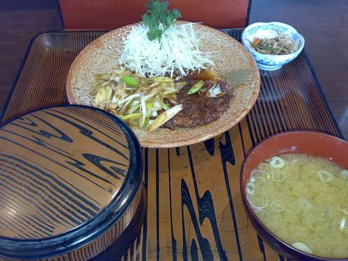 Viper kabayaki for lunch