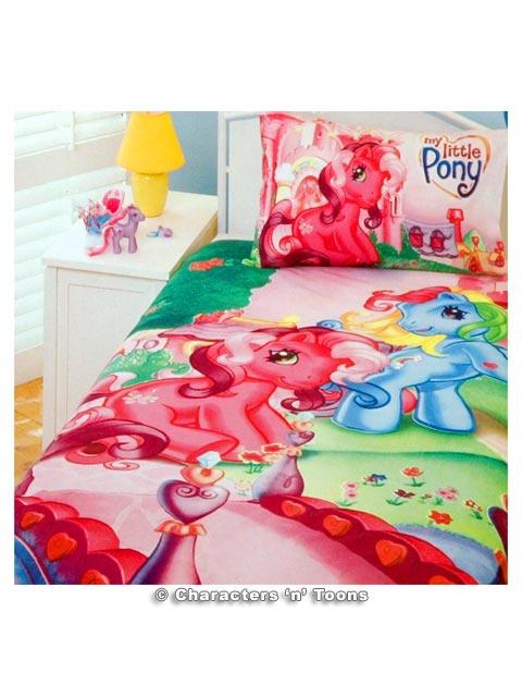 my little pony bedding flickr photo sharing. Black Bedroom Furniture Sets. Home Design Ideas