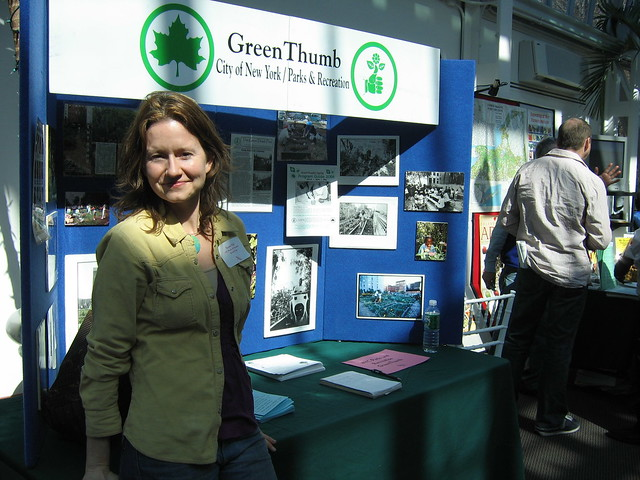 Susan Fields exhibits for GreenThumb.