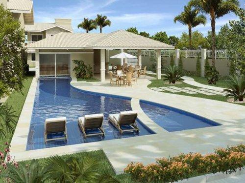 Plantas de casas com piscina for Plantas de casas modernas con piscina