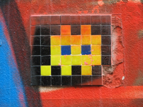 Space Invader PA_059 : Paris 15eme