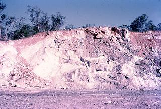 Photograph 0056 - 5ACS Darwin River Quarry Face 1972