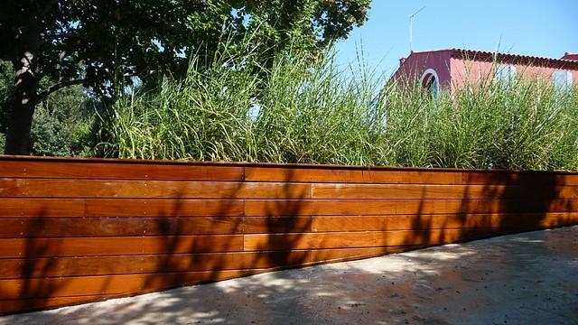 Bardage Bois Exotique - Bardage bois exotique ipé sur un mur en parpaings Aix en Provence (13) Ecosudeco Flickr