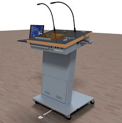 furniture(0.0), weighing scale(0.0), tool(1.0), podium(1.0),