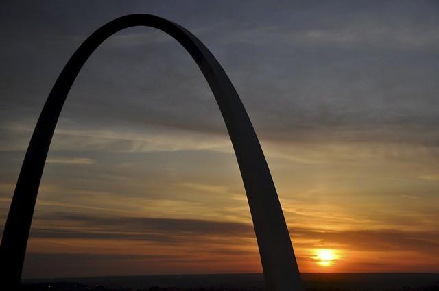 St. Louis Sunrise   Flickr - Photo Sharing!
