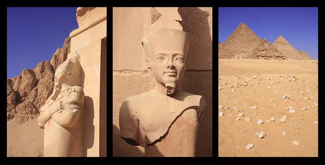Egypt Triptych