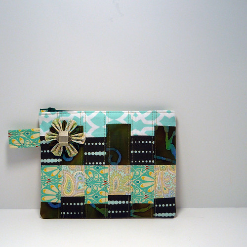Scrap Zipper Pouch