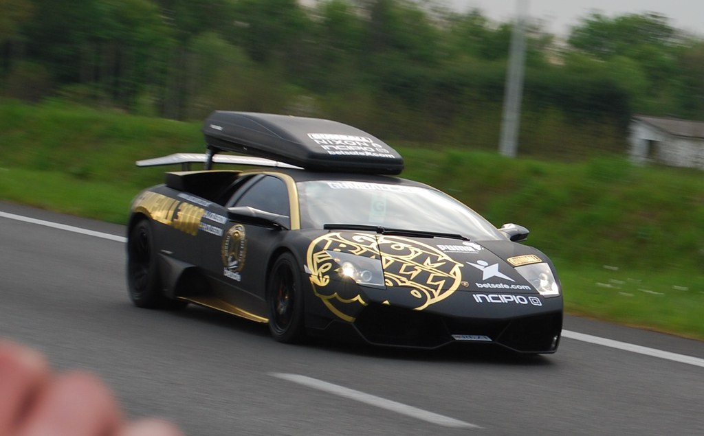 Video: Gumball 3000: Jon Olsson with his Lamborghini LP670 ...