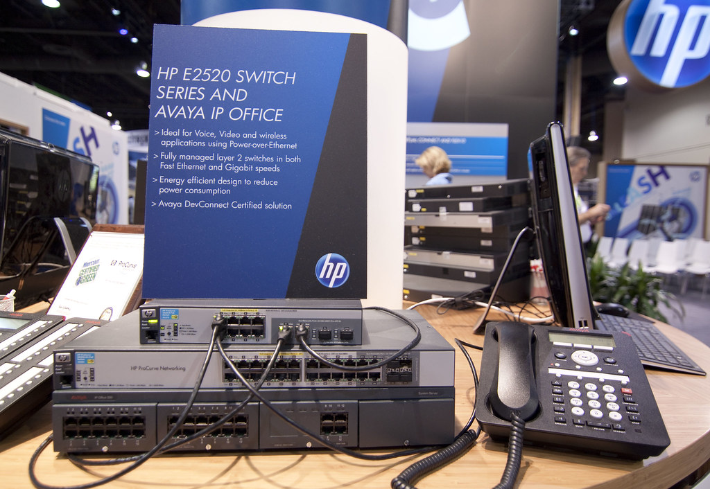 HP E2520 - an Avaya DevConnect solution on the HP Booth