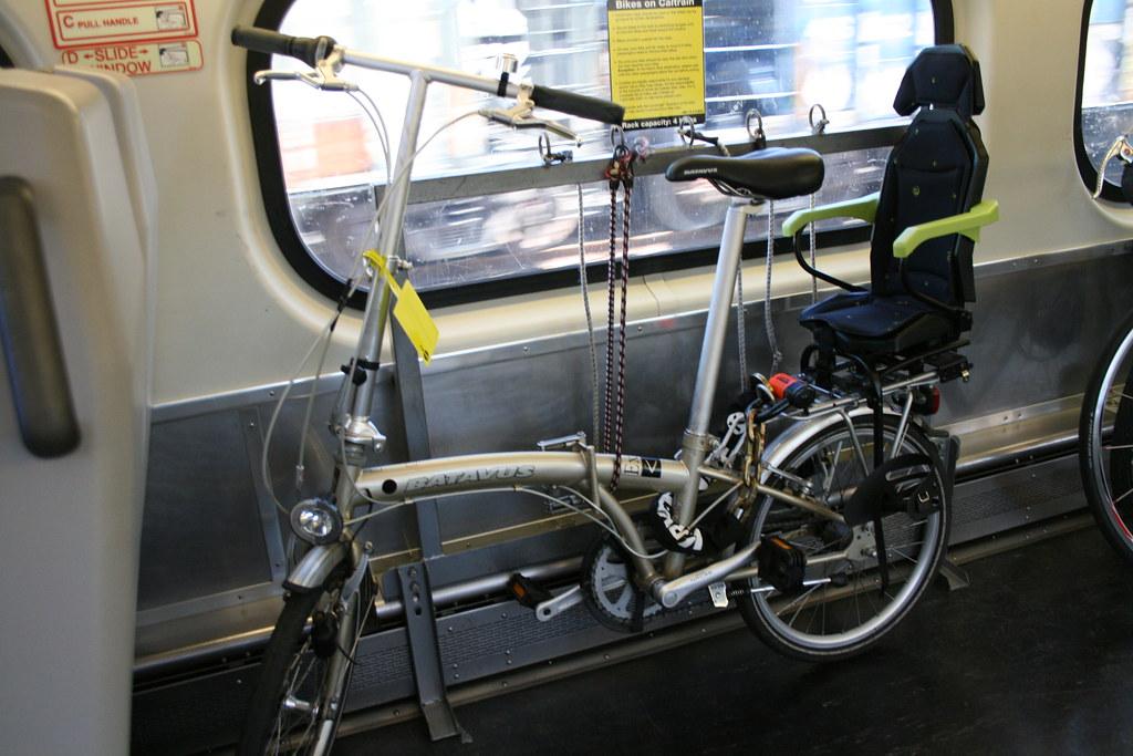 Batavus Versa folding bike