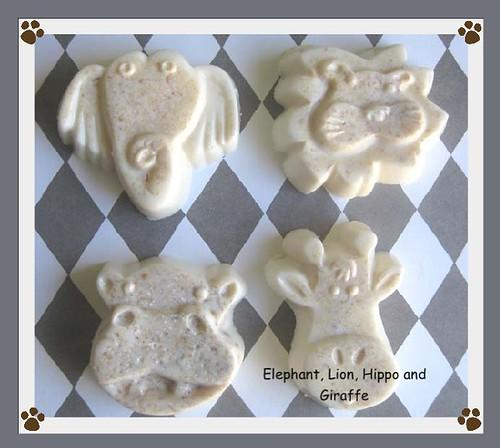 Soap Pets in Oatmeal Milk & Honey