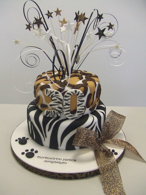 CAKE - Animal print cake Flickr - Photo Sharing!