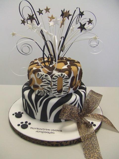 Animal Print Cake Images : CAKE - Animal print cake Flickr - Photo Sharing!