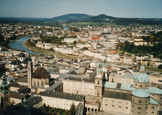 Salzburg View From Castle 1993