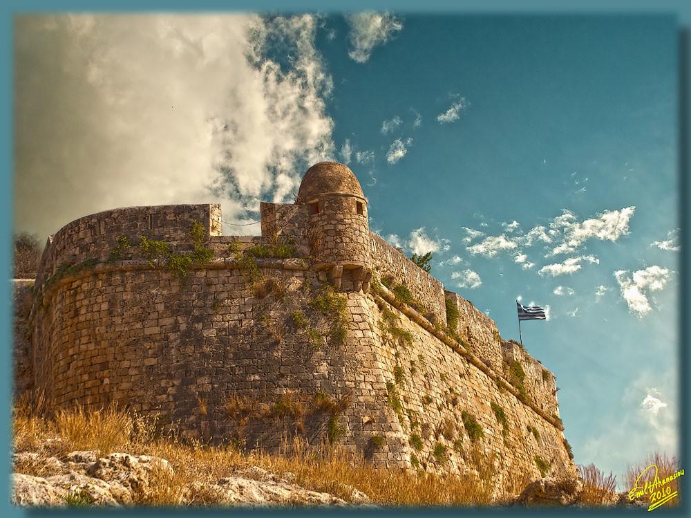 Fortezza Rethymno Crete HDR