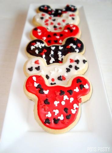 米奇鼠标饼干