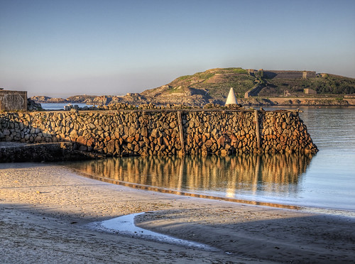 sunset seascape beach geotagged bay sand alderney braye douglasquay geo:lat=49722905 geo:lon=2199816