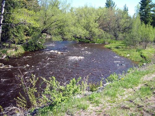 Brule River at Hwy FF-2