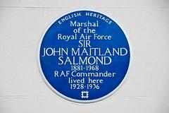 Photo of John Salmond blue plaque