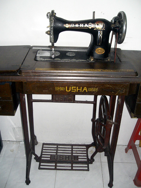 Embroidery with usha sewing machine designs