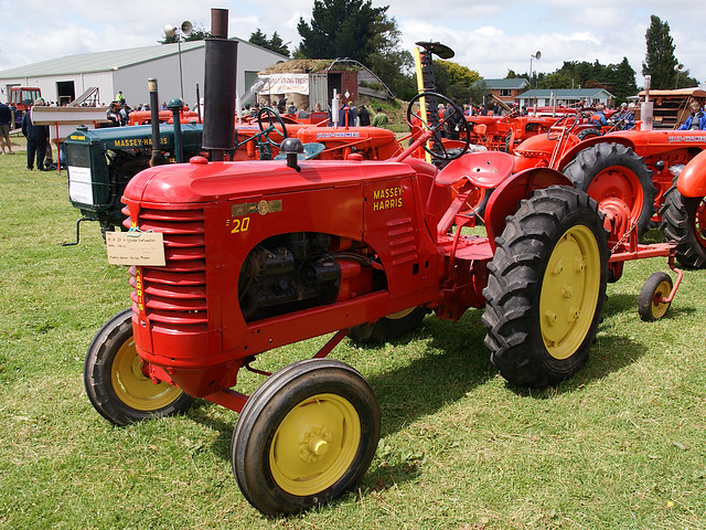 Massey Harris Tractor : Massey harris tractor a photo on flickriver