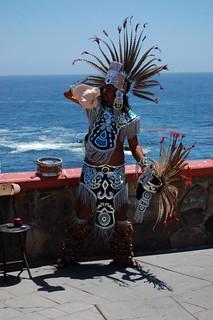 Aztec warrior costume