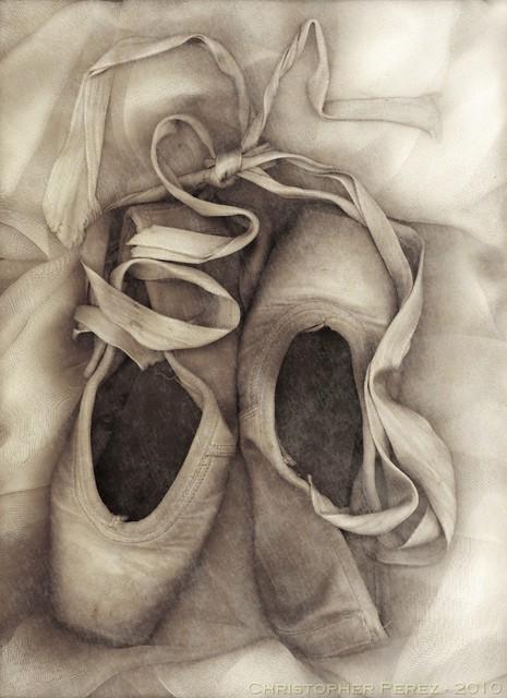 Ballet - toe shoes in still life